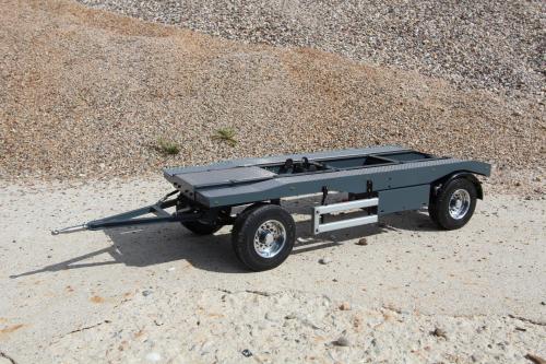 remorque 2 essieux pour ampliroll excel 39 truck sp cialiste rc. Black Bedroom Furniture Sets. Home Design Ideas