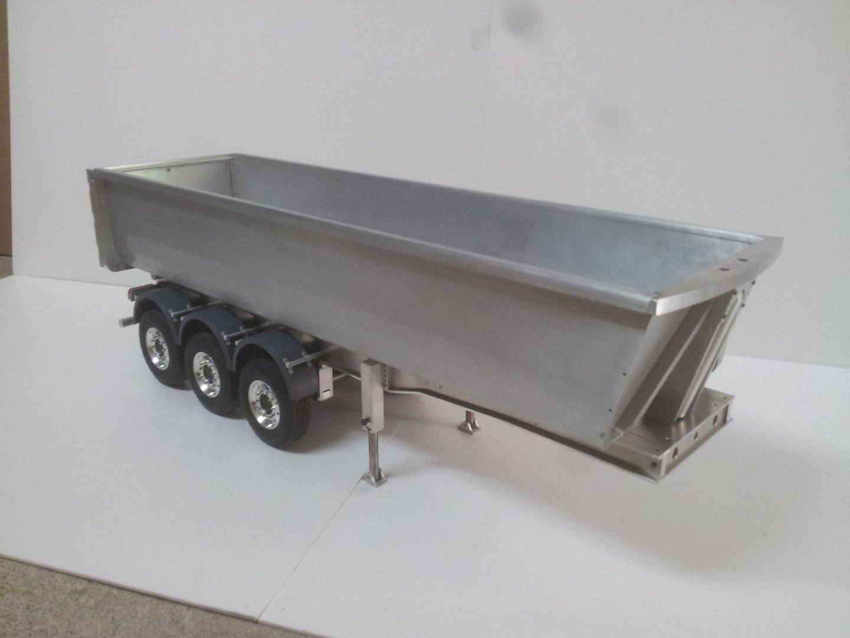 remorque benne 3 essieux pour camion tamiya excel 39 truck sp cialiste rc. Black Bedroom Furniture Sets. Home Design Ideas