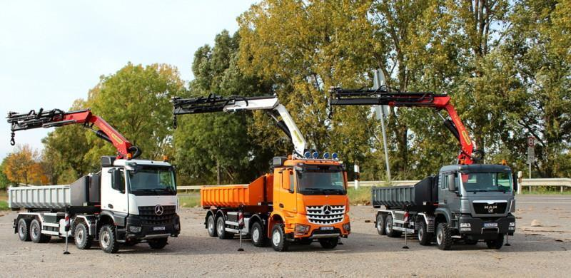 camion ampliroll avec grue. Black Bedroom Furniture Sets. Home Design Ideas