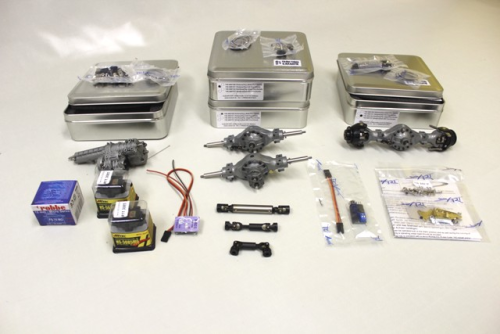 Kit drive technology pour tri benne 6x6 kit